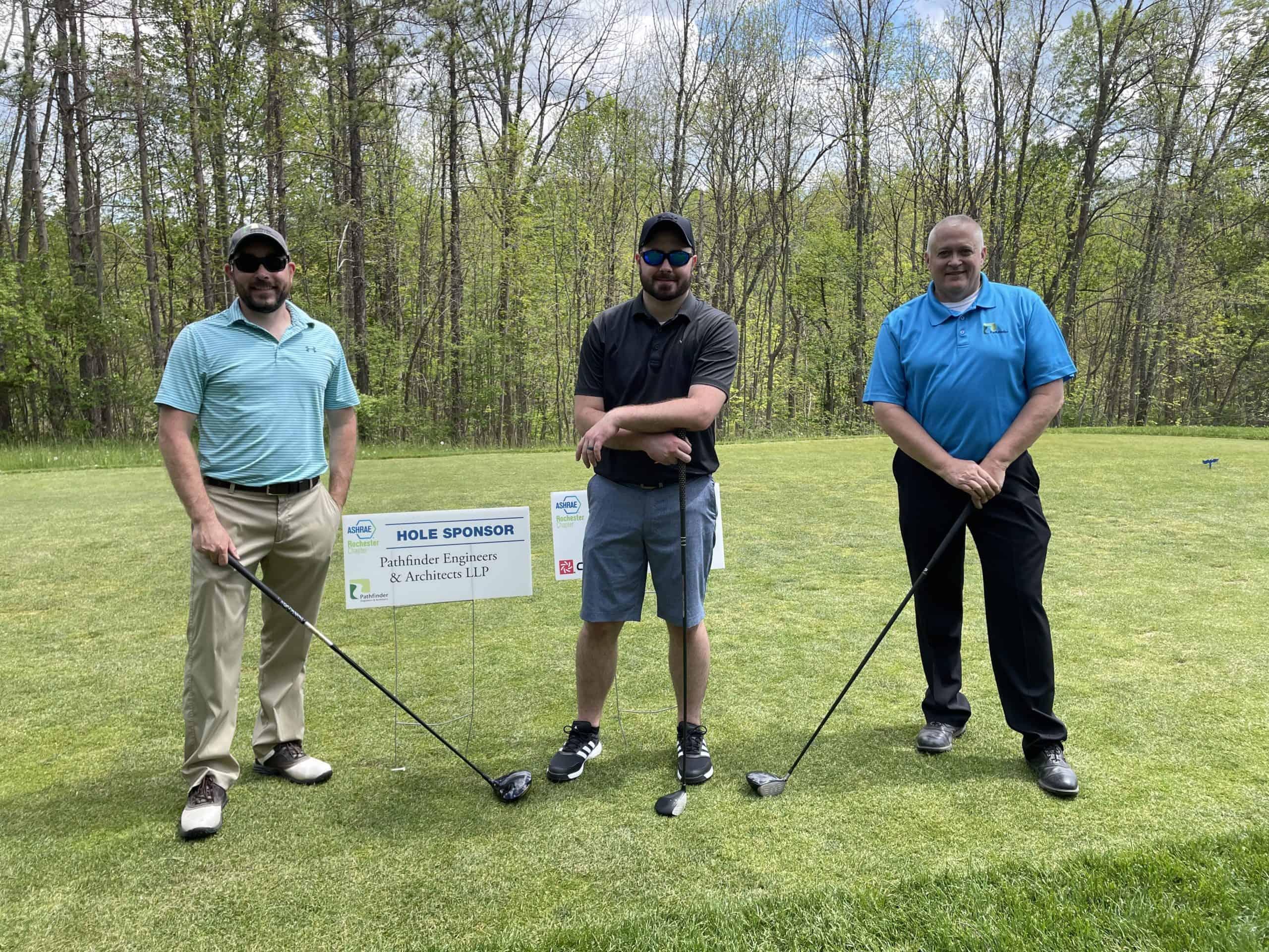 Pathfinder Enjoys ASHRAE Golf Outing