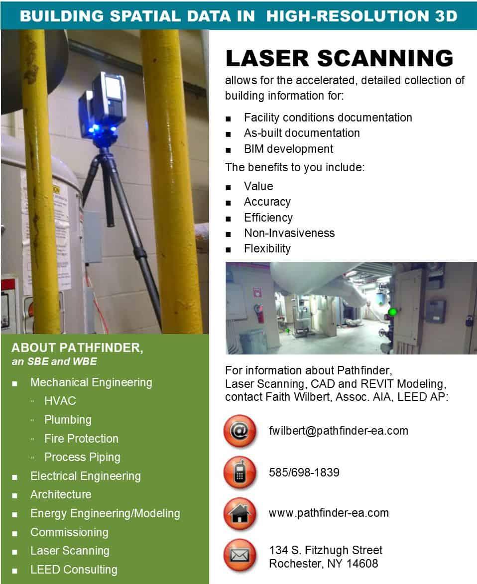 Laser Scanning Offered by Pathfinder