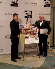 Pathfinder Accepts Engineering Excellence Award